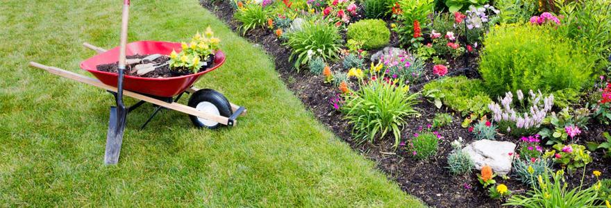 aménagement et l'entretien de votre jardin