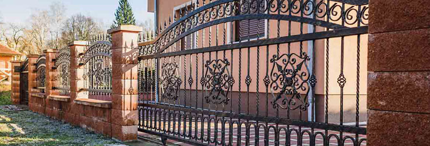 Achat de portails de maison