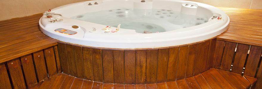 Installation de spa de nage